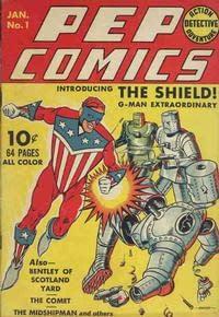 Diving into the comic vault: Pep Comics #1