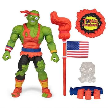 Toxic Crusaders Ultimate Toxie Figure From Super7 Shipping in May