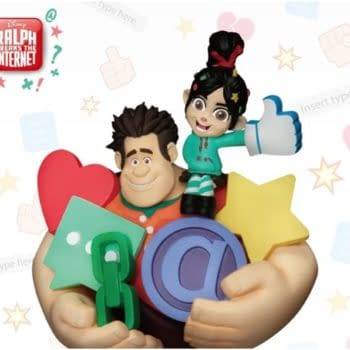 """""""Wreck It Ralph"""" and Vanellope Get an Adorable Statue from Beast Kingdom"""
