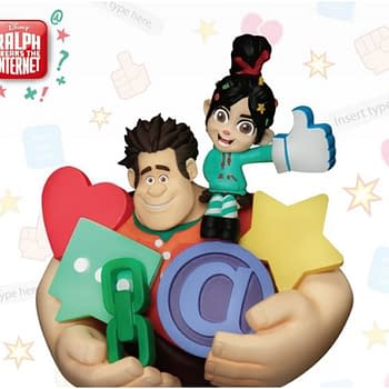 Wreck It Ralph and Vanellope Get New Statue from Beast Kingdom