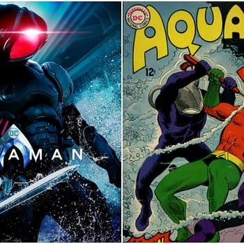 Aquaman 2: Black Mantas Story Reportedly Silver Age Inspired