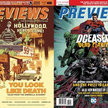 Umbrella Academy and DCeased On Covers of Next Weeks Diamond Previews