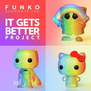 Funko Supports Pride as They Announce New Pop Vinyl Figures