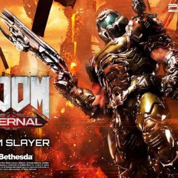 """Doom Eternal"" Comes to Life in New Prime 1 Studio Statue"