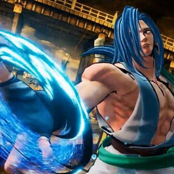 Sogetsu Kazama Officially Joins Samurai Shodown