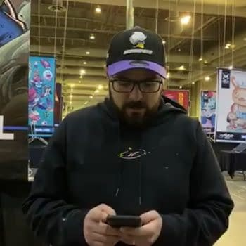 So What Did La Mole Comic Con Say to Mark Brooks Anyway?