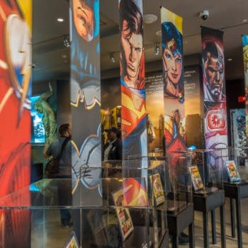 DC Comics lobby display