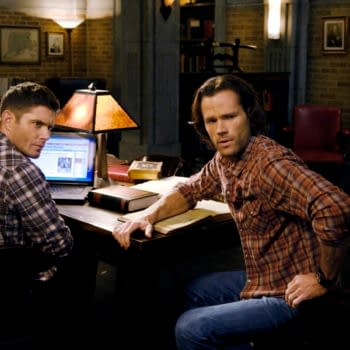 """Supernatural -- """"Destiny's Child"""" -- Image Number: SN1513a_0528b.jpg -- Pictured (L-R): Jensen Ackles as Dean and Jared Padalecki as Sam -- Photo: Jeff Weddell/The CW -- © 2020 The CW Network, LLC. All Rights Reserved."""