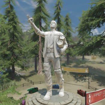 Star Trek Online First Contact Day Statue