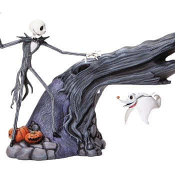 """""""Nightmare Before Christmas"""" Gets A Delightful Statue from Enesco"""