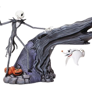 Nightmare Before Christmas Gets A Delightful Statue from Enesco