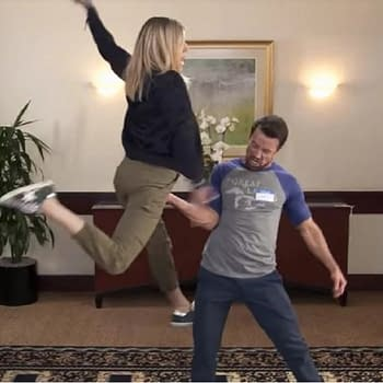 Help Rob McElhenney Kaitlin Olson Spend Sunny Money for Good Cause