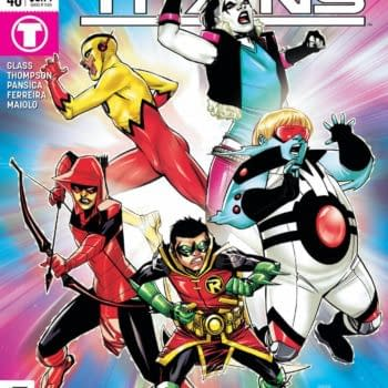 In This Preview of Teen Titans #40... the Teen Titans WILL DIE!!!