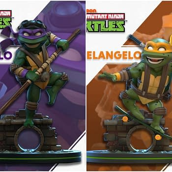 TMNT Q-Figs Coming Form QMx: Donatello and Michelangelo