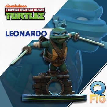 TMNT Q-Figs Coming From QMx: Leonardo