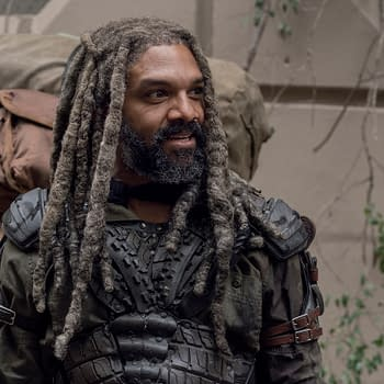The Walking Dead: Khary Payton Introduces Son Karter to TWD Universe