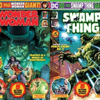 Creator Credits For Swamp Thing Giant #4 and Wonder Woman Giant #4, Released