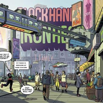 Image Comics to Publish David Lópezs BlackHand &#038 IronHead in English