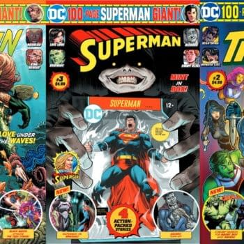 Cecil Castellucci Joins DC's Revealed Creator Credits For Aquaman Giant #4, Superman Giant #3, and Titans Giant #2