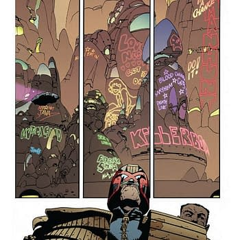 2000AD Promotes Judge Dredd Comic About A City Under Viral Quarantine and an Impounded Cruise Ship&#8230