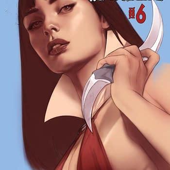 Thomas E. Sniegoskis Writers Commentary: Vengeance of Vampirella #6