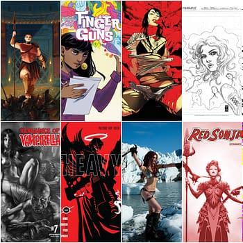 Final Order Cut-Off Covers for Buffy Faithless II Finger Guns Heavy The Boys Vampirella Red Sonja