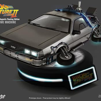 Back to the Future II DeLorean Levitates with Kids Logic