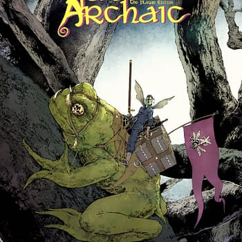 Digital Version of Fantasy Graphic Novel Fae Archaic Now Free