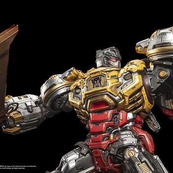 Transformers Grimlock Shows His Teeth with XM Studios