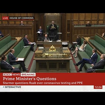 Today Prime Ministers Question Time Went Semi-Virtual