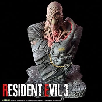 Resident Evil 3 Nemesis Gets a Collectible Bust from Squip