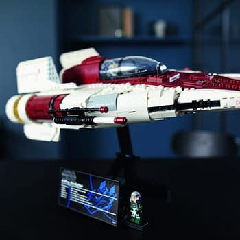 Star Wars A-Wing Makes its Landing with New LEGO Set