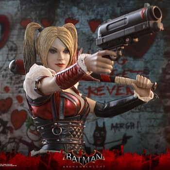 Harley Quinn Gets an Arkham Knight Figure from Hot Toys