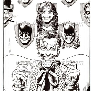 The Perfect Joker Commission by Brian Bolland