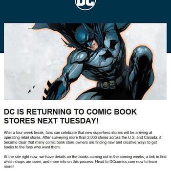 Alan Gill Boycotts New DC Comics Distributors in Favour of Diamond