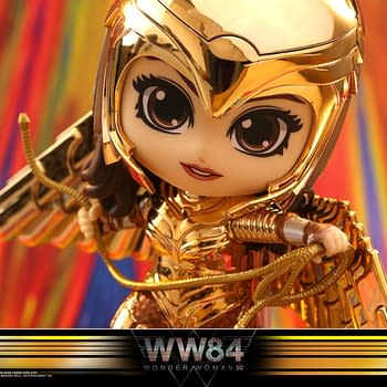 Wonder Woman 84 Cosbaby Figures from Hot Toys are Adorable