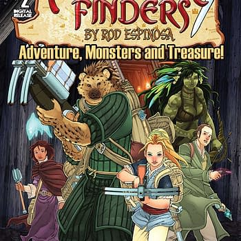 Adventure Finders #2 Review &#8212 Character Bolsters Action Scenes