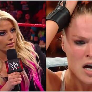 WWE: Alexa Bliss Schools Ronda Rousey on Wrestling Industry