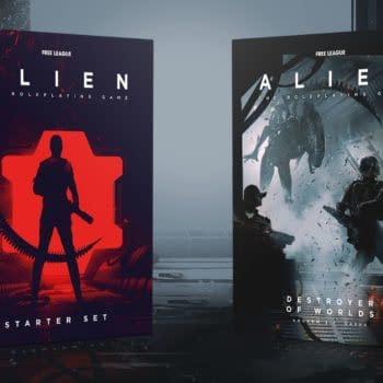 Alien The RPG Starter and Destroyer of Worlds
