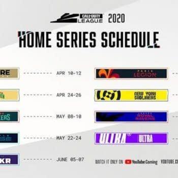 Call Of Duty League Continue April 2020