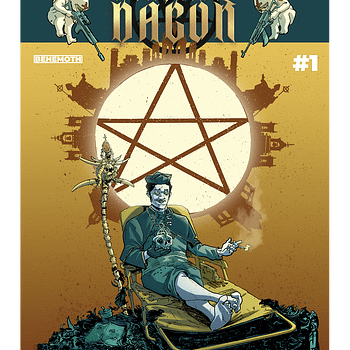 Cardinal Dagon Launches in Behemoth Comics July 2020 Solicits Maybe