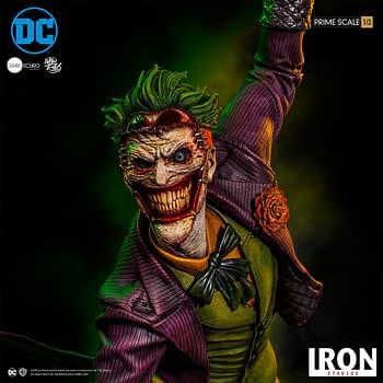 Joker Gets a New Concept Art Statue from Iron Studios
