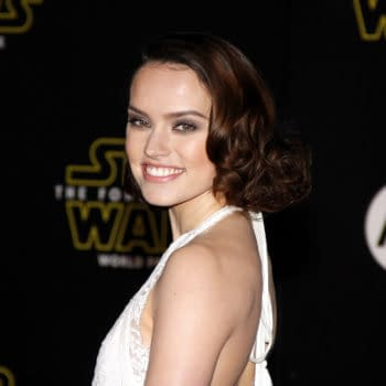 Daisy Ridley at the World premiere of 'Star Wars: The Force Awakens' held at the TCL Chinese Theatre in Hollywood, USA on December 14, 2015. Editorial credit: Tinseltown / Shutterstock.com