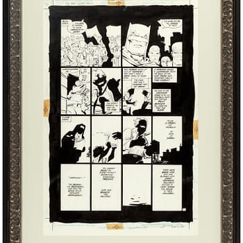 How Much Will These Pages of Dark Knight and Watchmen Sell For