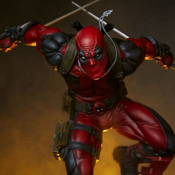 Deadpool Slices and Dices With New Sideshow Premium Statue