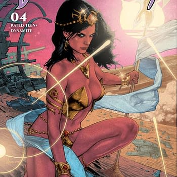 Dejah Thoris #4 Writers Commentary by Dan Abnett