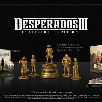 Desperados III Will Receive A Five-Figurine Collectors Edition