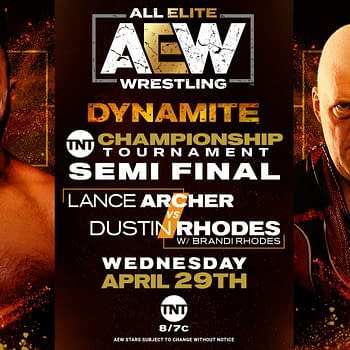 AEW Dynamite This Week Features Jon Moxley TNT Quarterfinals More