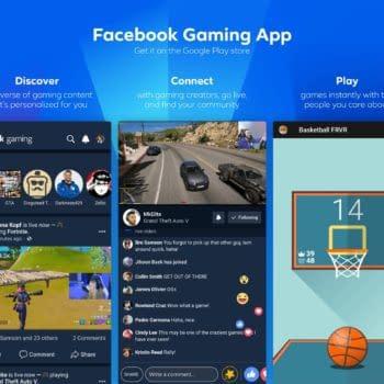 Facebook Gaming App Display