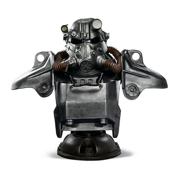 Fallout Power Armor Bust Returns to the Wasteland with Gaming Heads